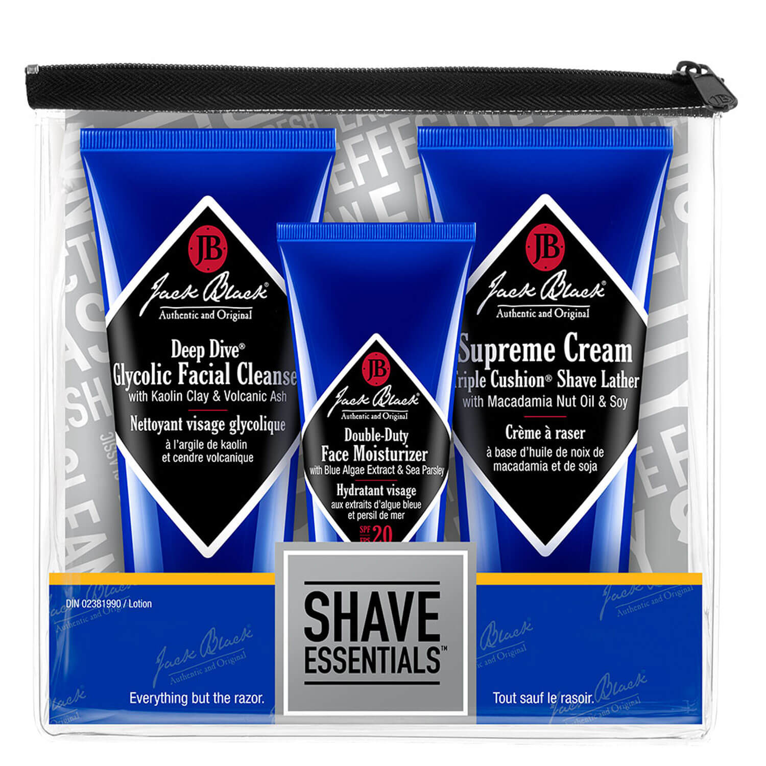 Jack Black - Shave Essentials