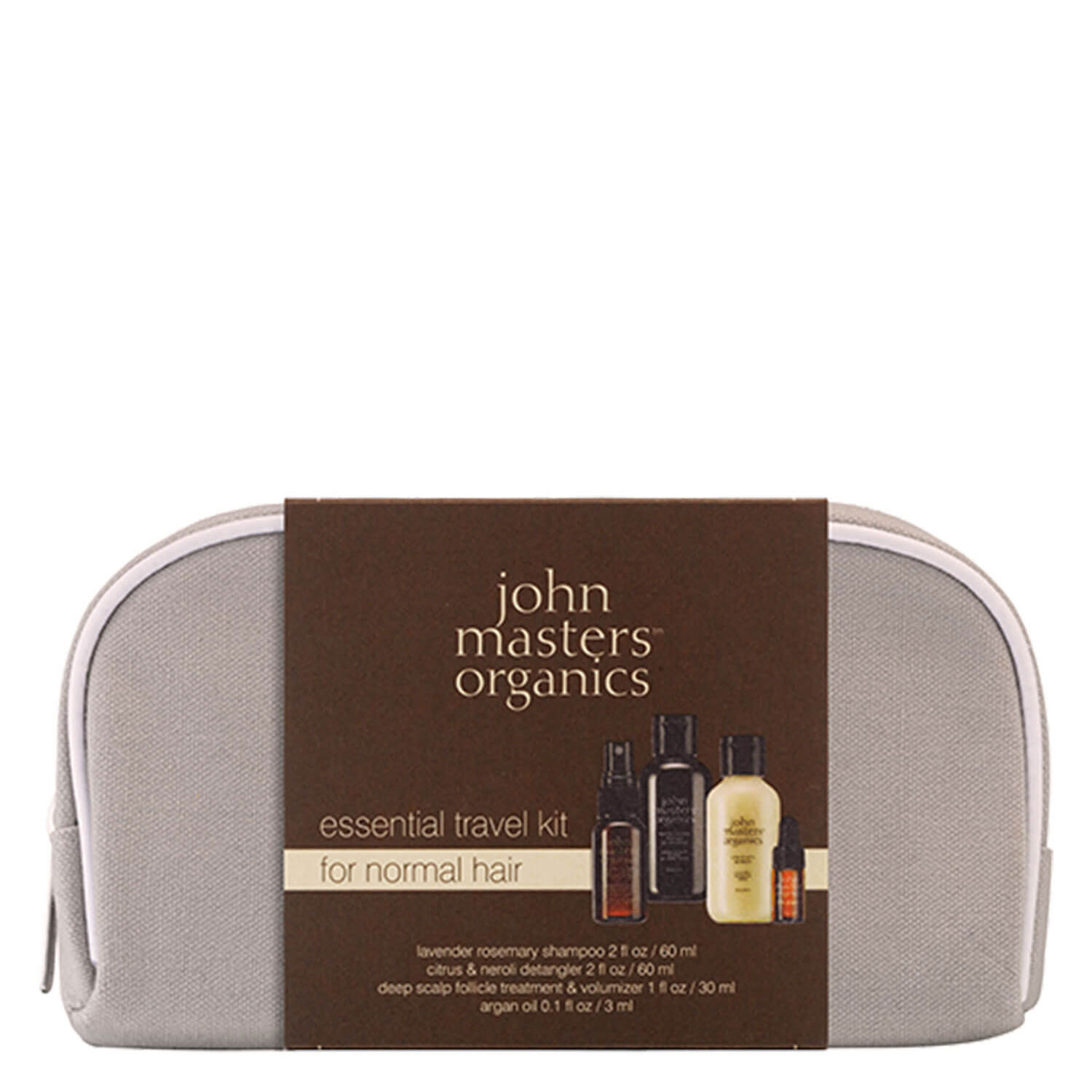 JMO Hair Care - Essential Travel Kit for Normal Hair