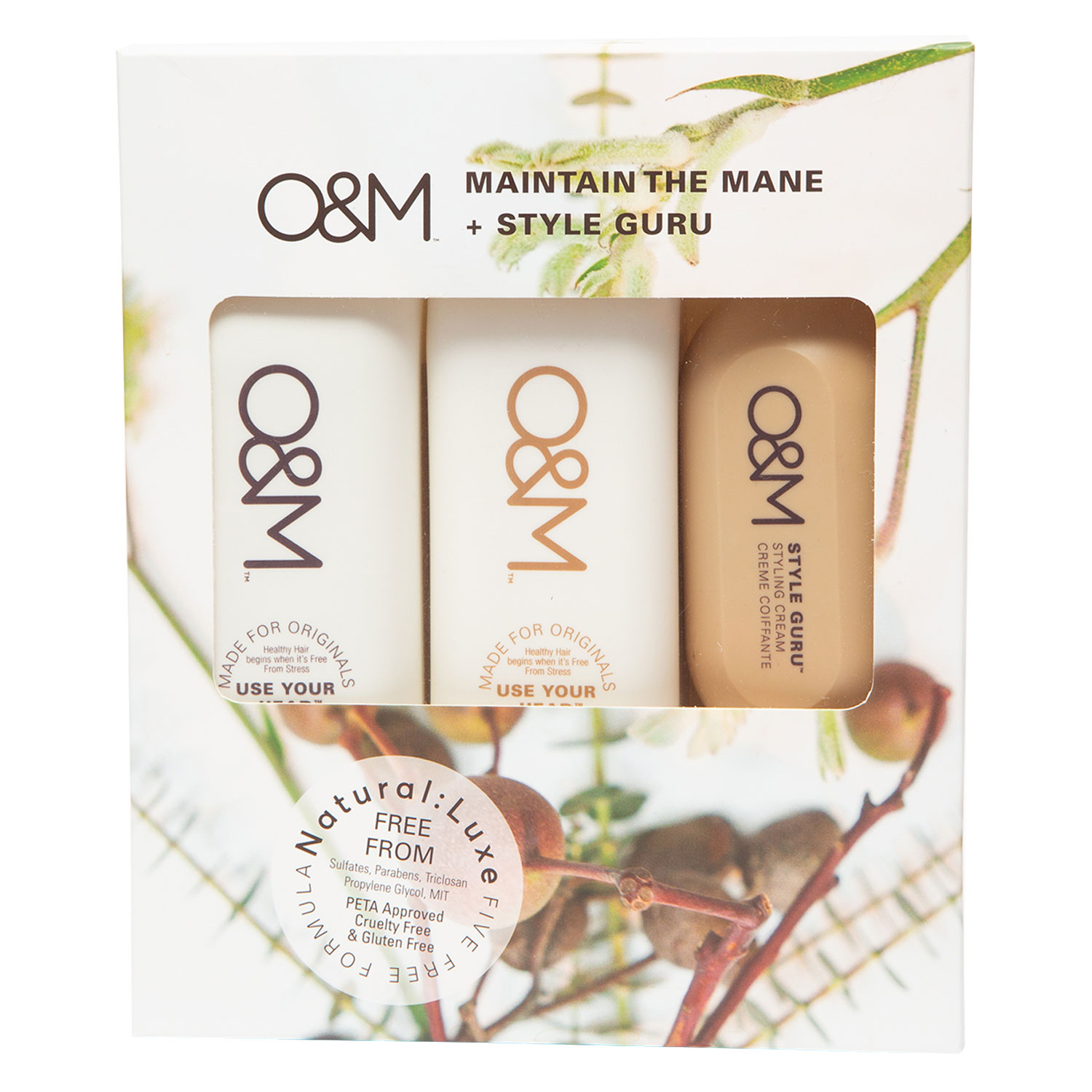 O&M Haircare - Maintain the Mane Set