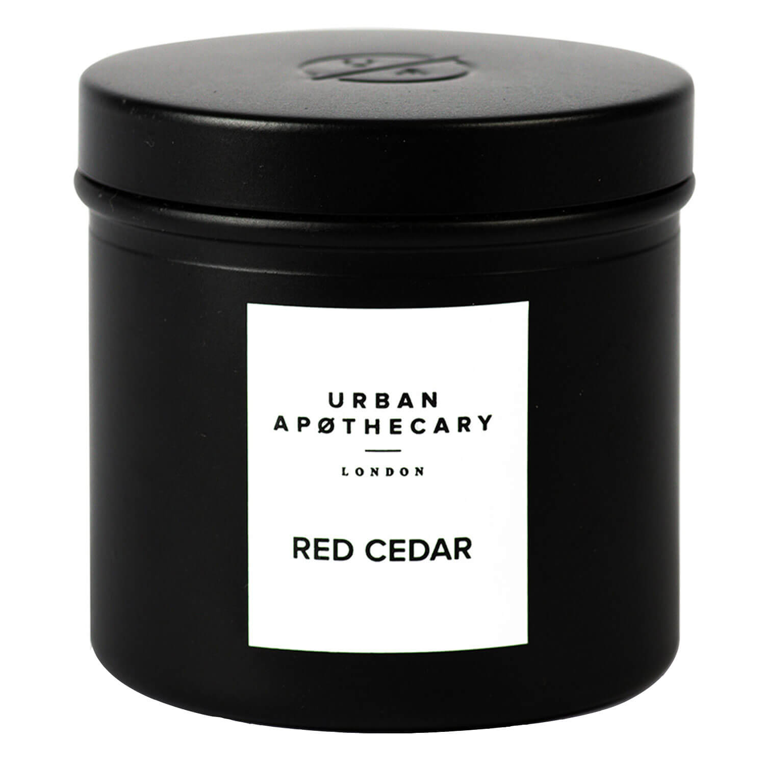 Urban Apothecary - Luxury Iron Travel Candle Red Cedar