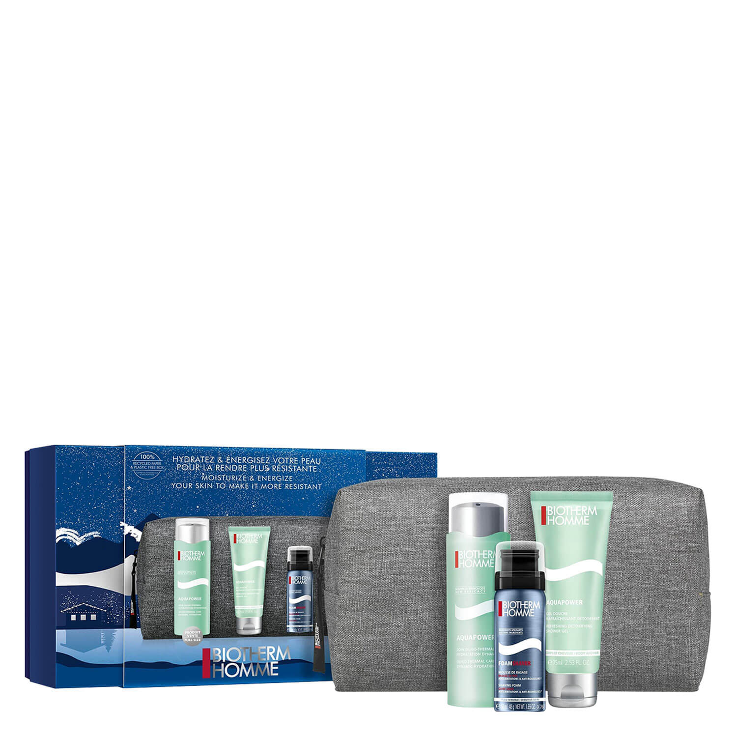 Biotherm Homme - Aquapower Trio
