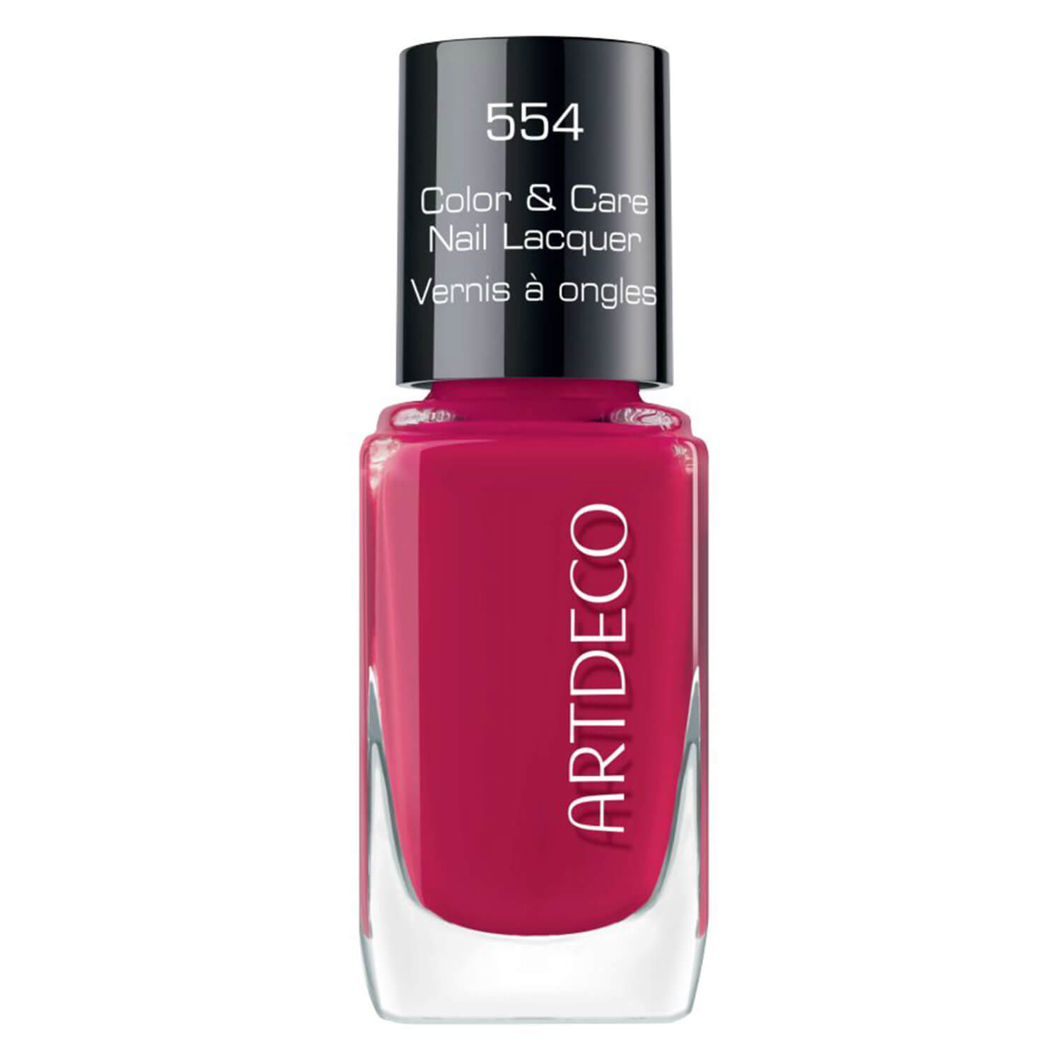 Color & Care - Nail Lacquer Beautiful Raspberry 554