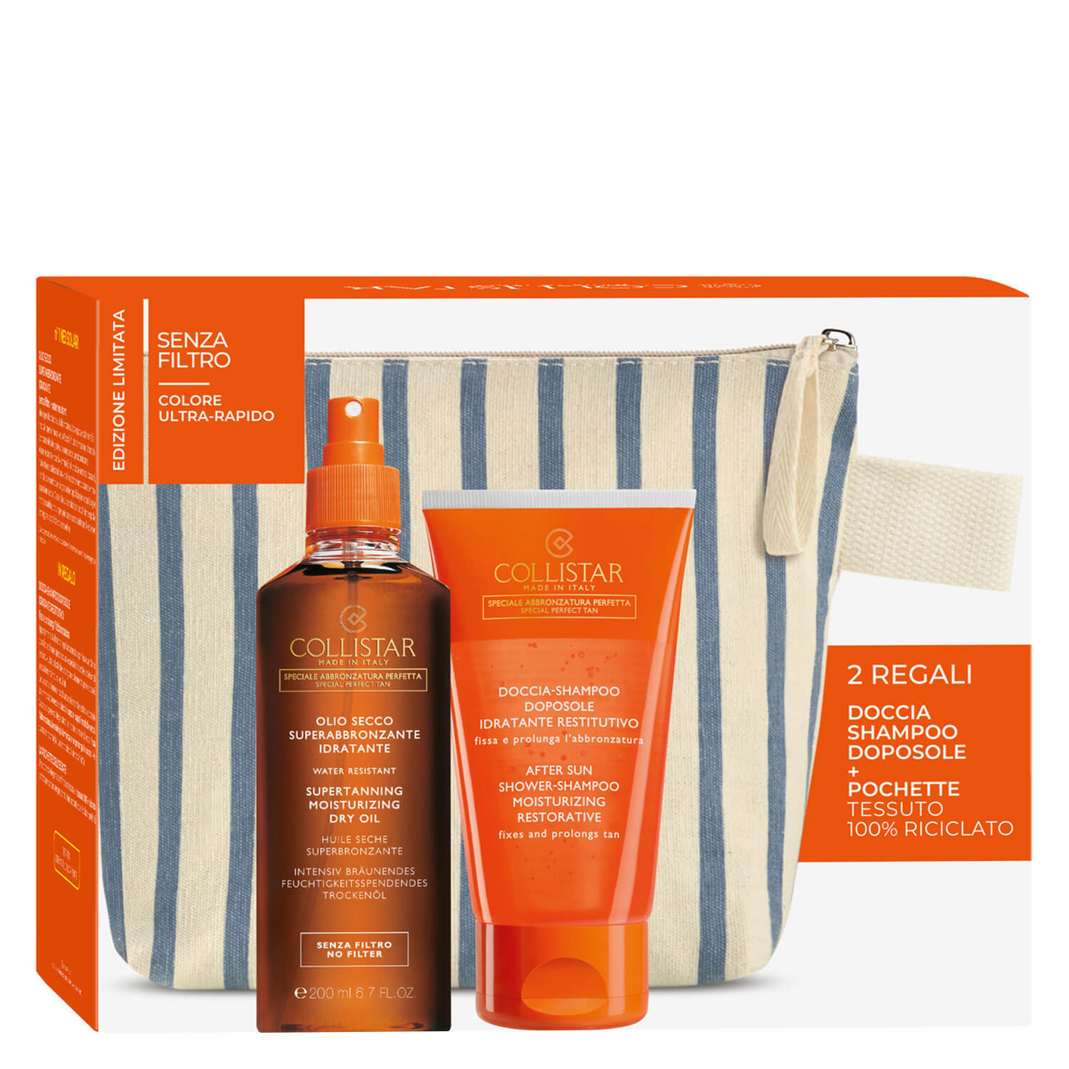 CS Sun - Supertanning Dry Oil No Filter Set