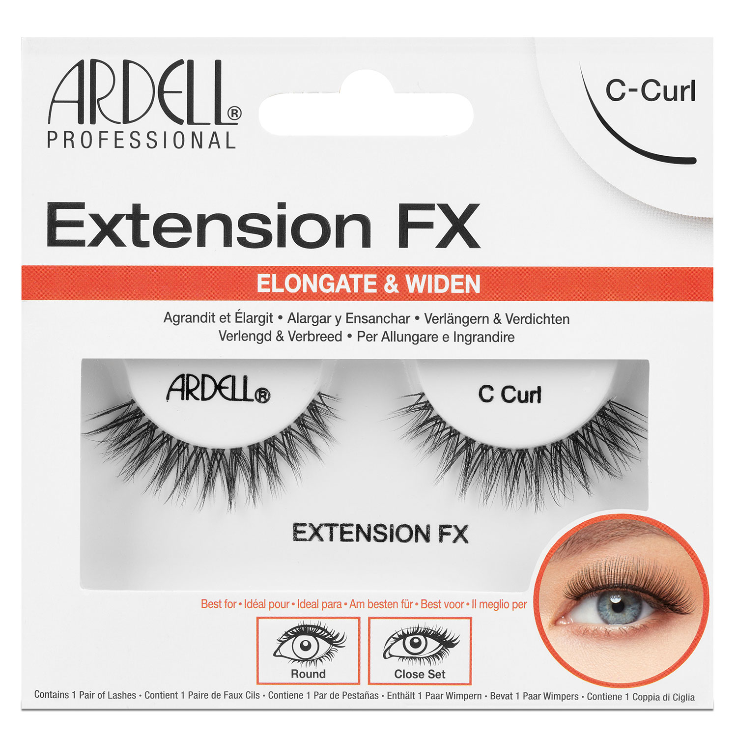 Ardell False Lashes - Extension FX C Curl