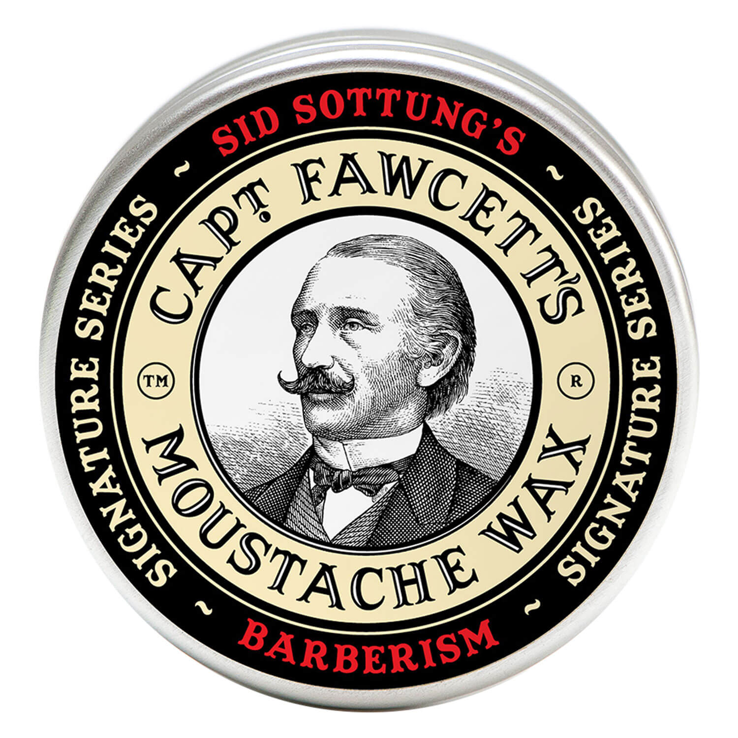 Capt. Fawcett Care - Sid Sottung's Barberism Moustache Wax