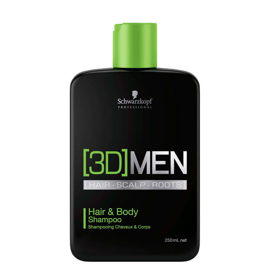 [3D]MEN - Hair and Body Shampoo
