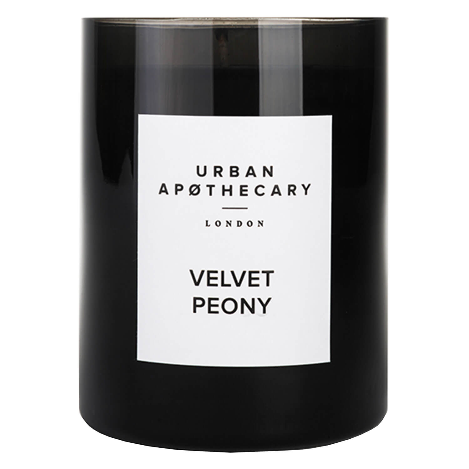 Urban Apothecary - Luxury Boxed Glass Candle Velvet Peony