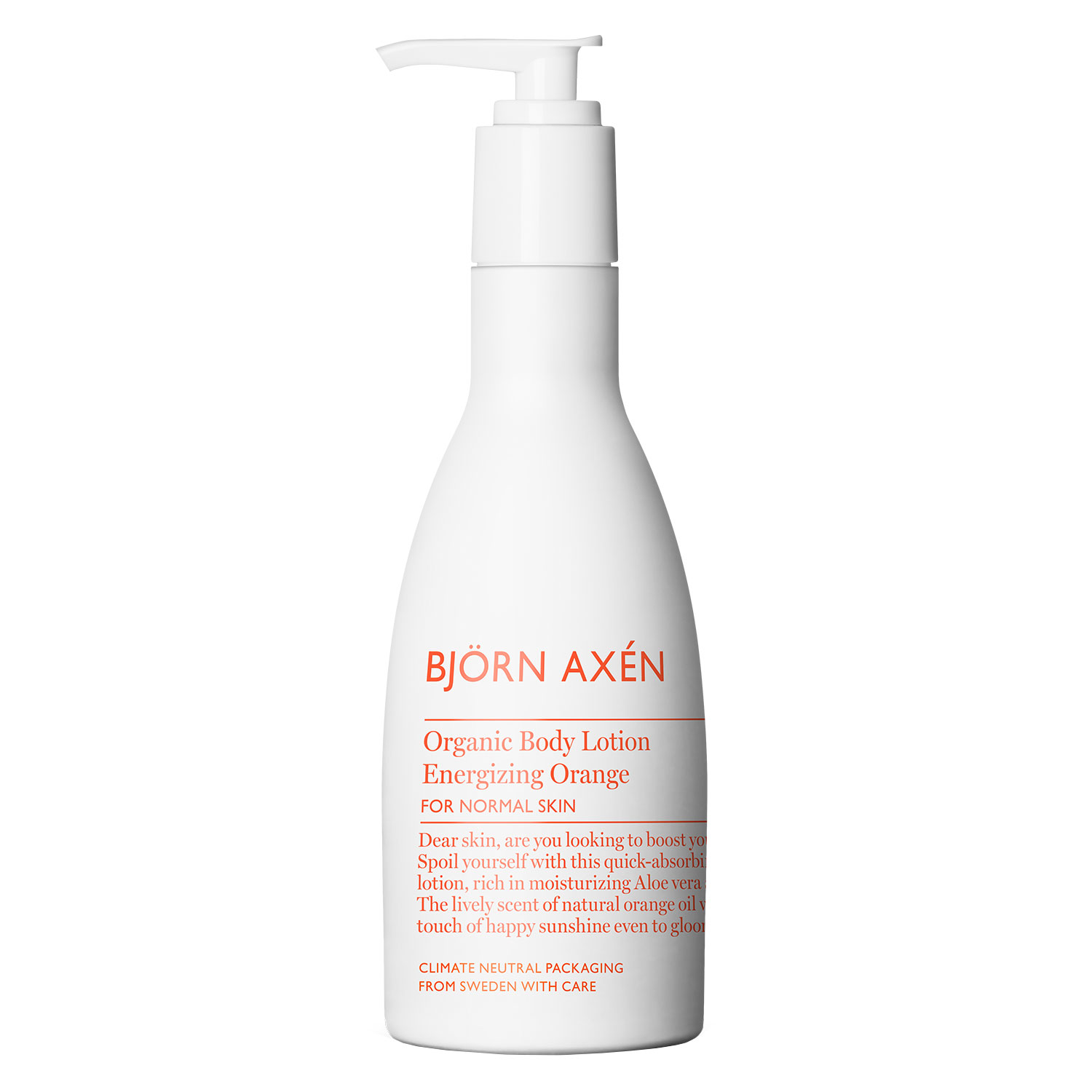 Björn Axén Organic - Body Lotion Energizing Orange