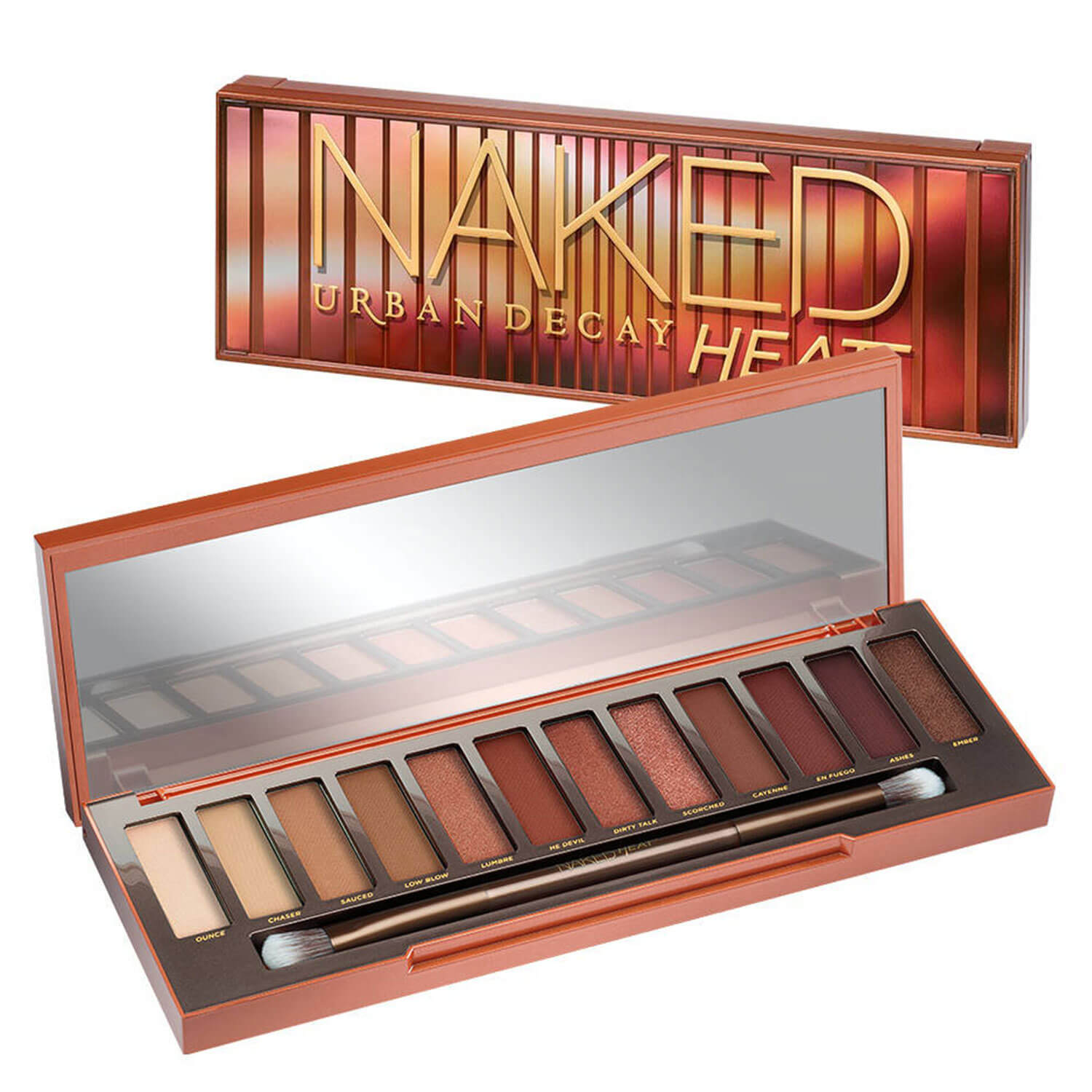 Naked Palettes - Eyeshadow Palette Naked Heat