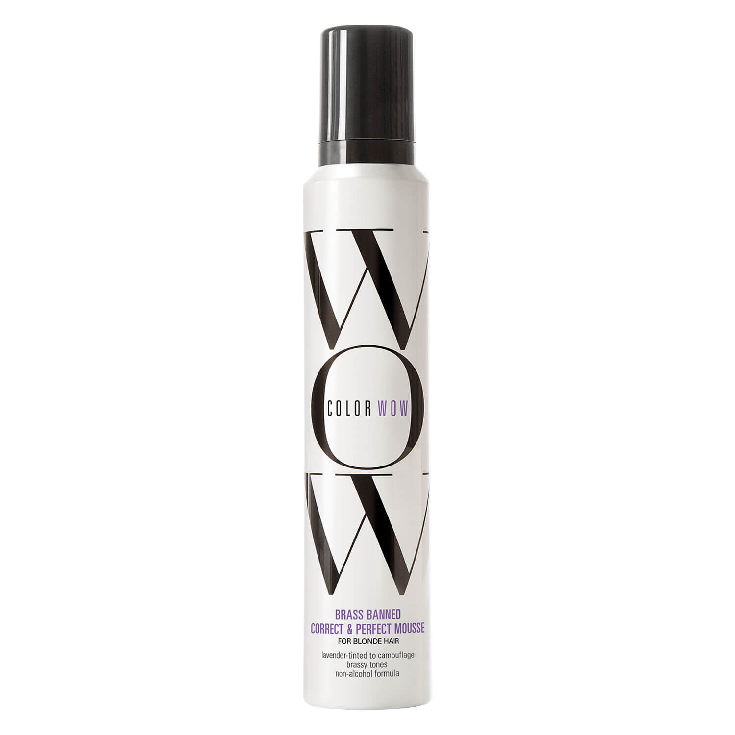 Color Wow - Brass Banned Correct & Perfect Mousse Blonde