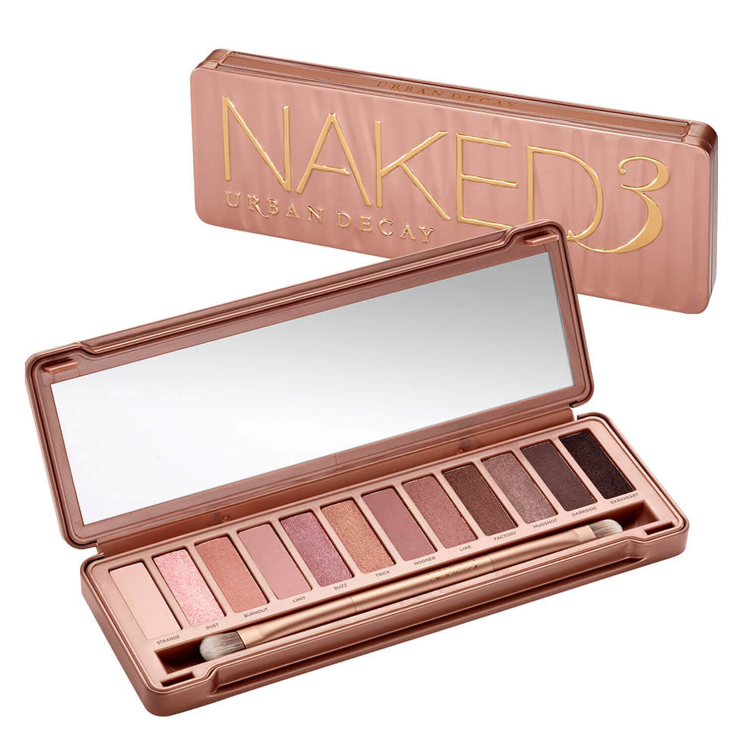 Naked Palettes - Eyeshadow Palette Naked 3