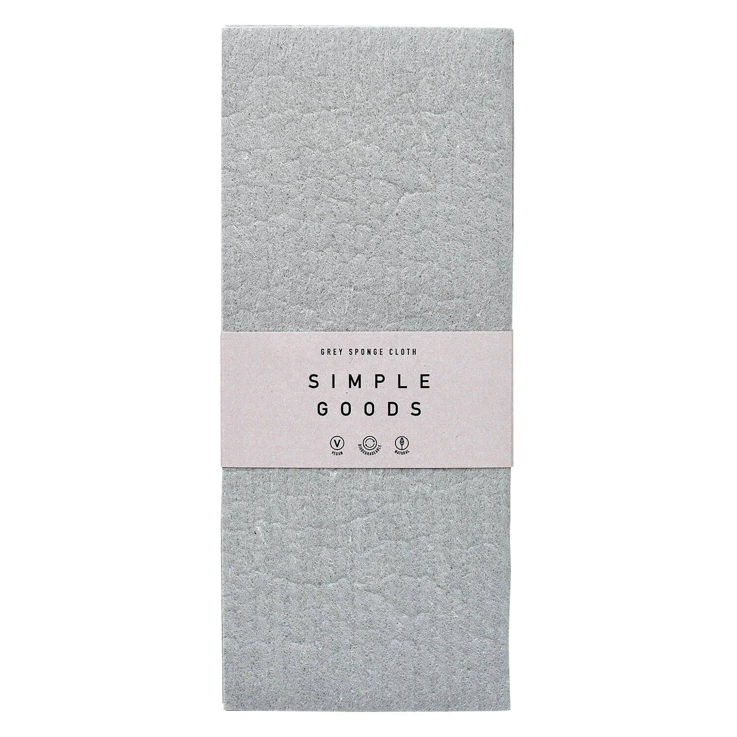 SIMPLE GOODS - Sponge Cloth Grey