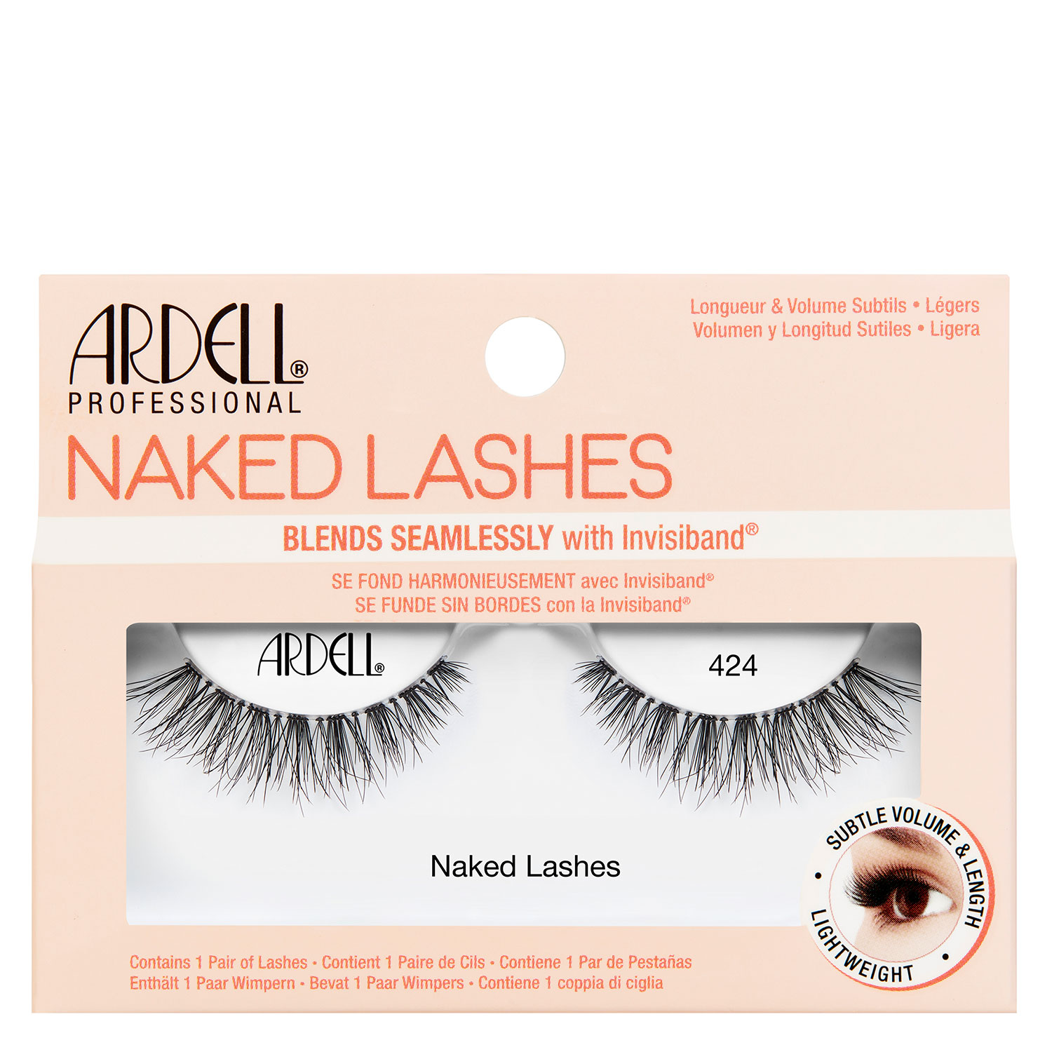 Ardell False Lashes - Naked Lashes 424