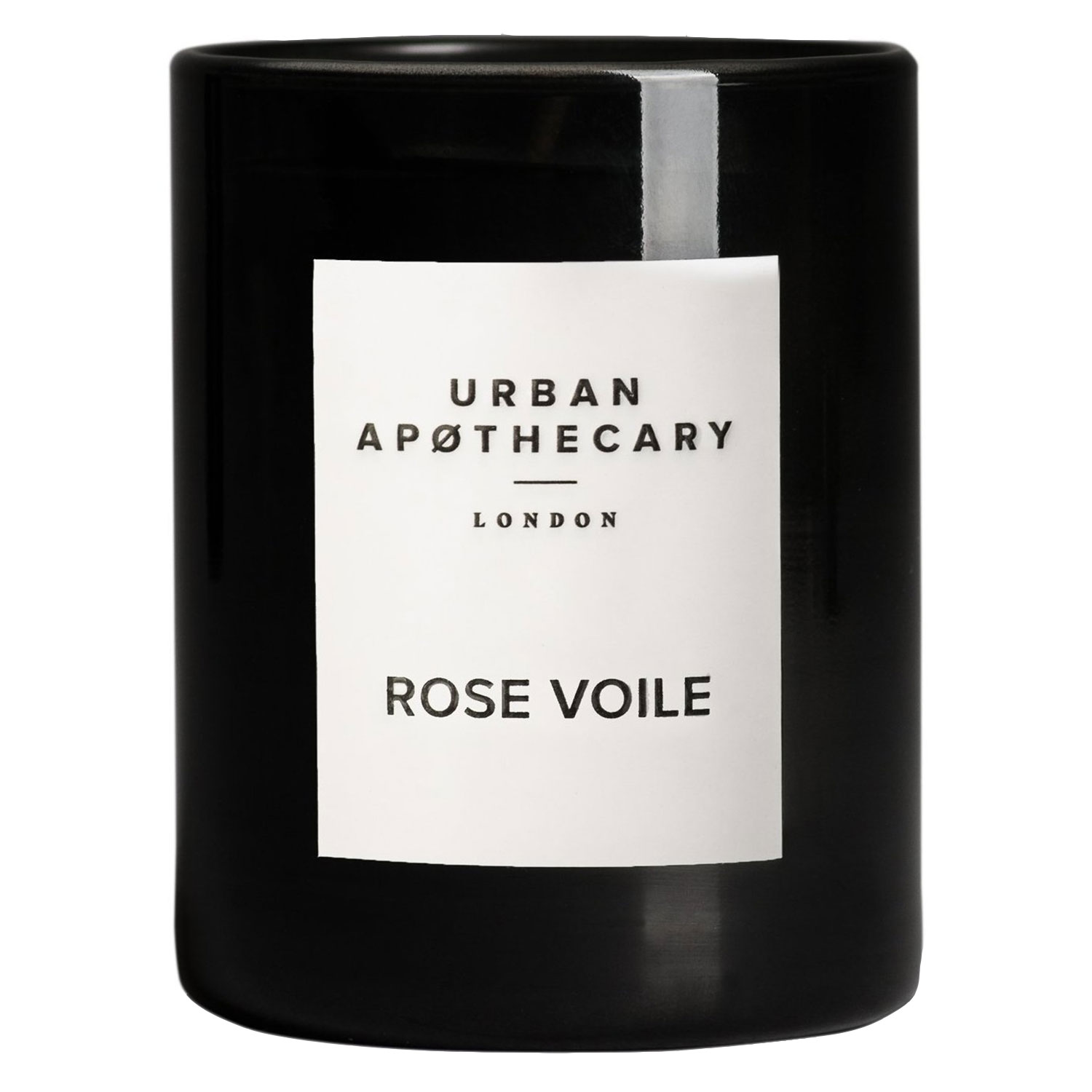 Urban Apothecary - Luxury Boxed Glass Candle Rose Voile