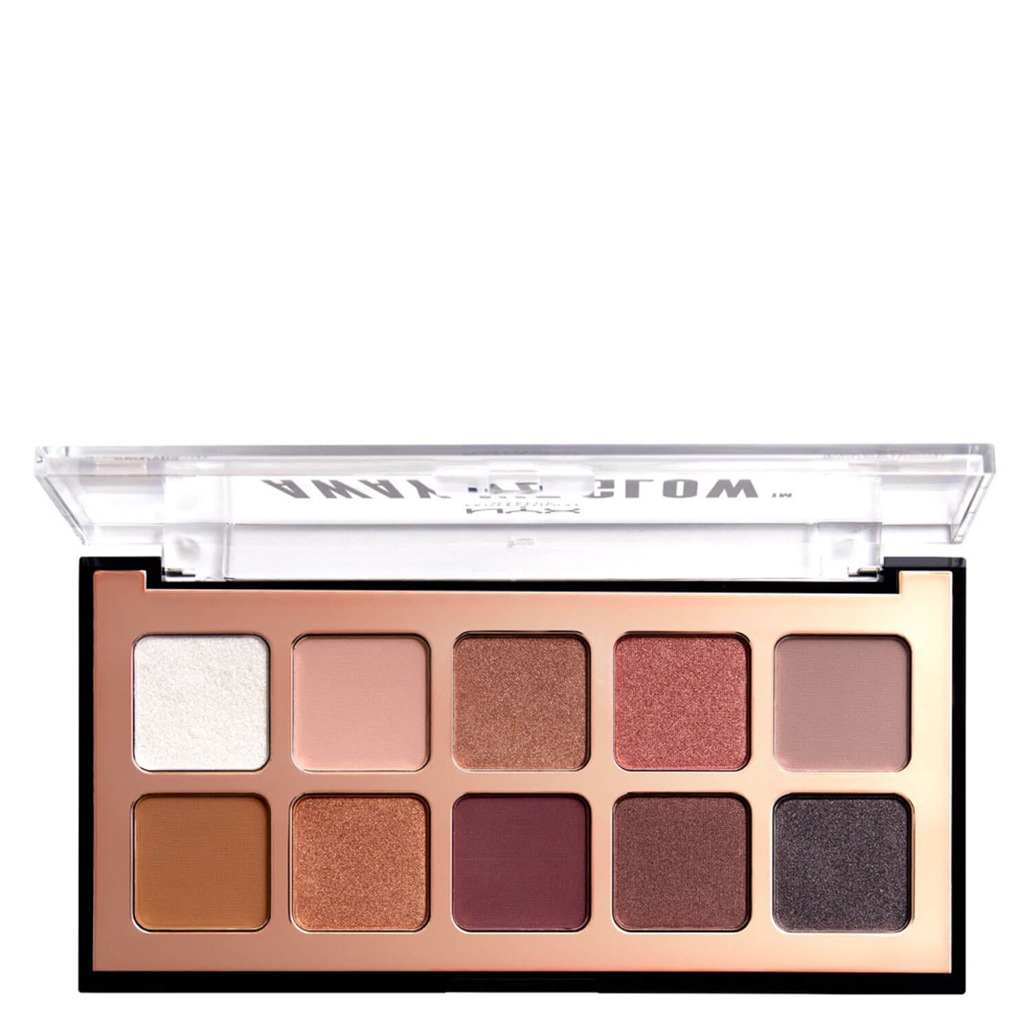 NYX Palette - Away we Glow Shadow Palette Lovebeam