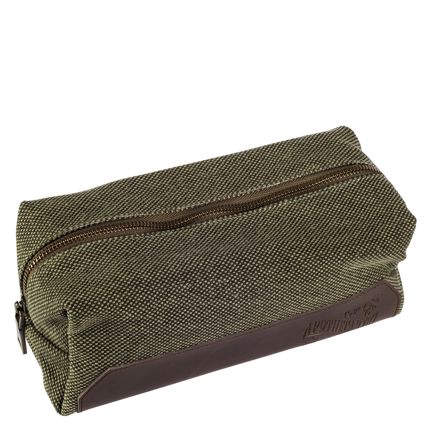 Apothecary87 Grooming - Dopp Bag Canvas/Real Leather