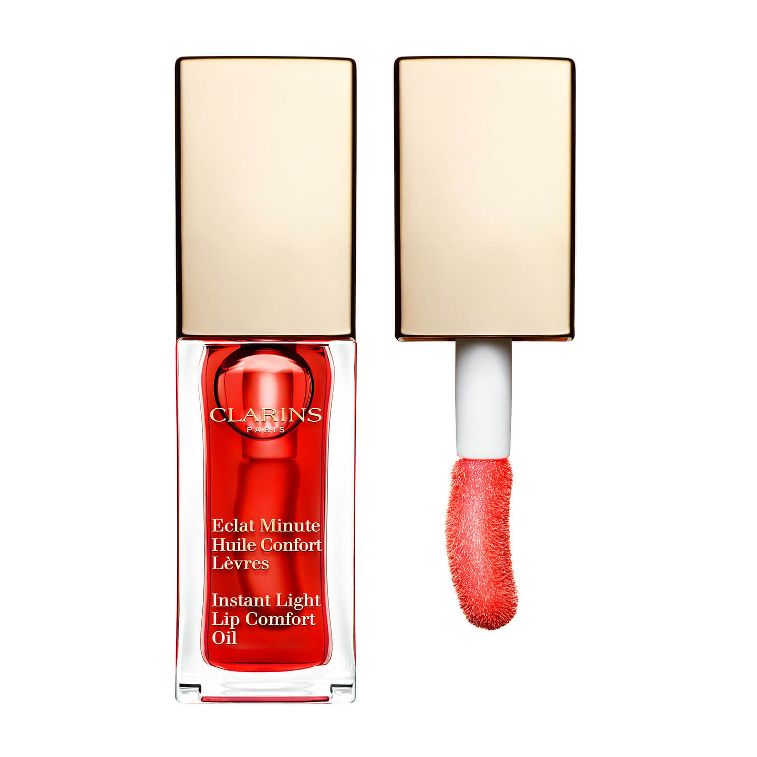 Eclat Minute - Huile Confort Lèvres Red Berry 03