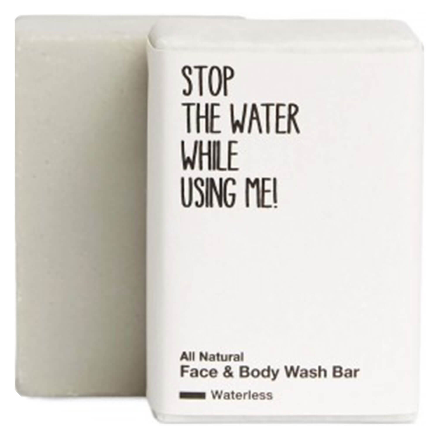 All Natural Body - Waterless Face & Body Wash Bar