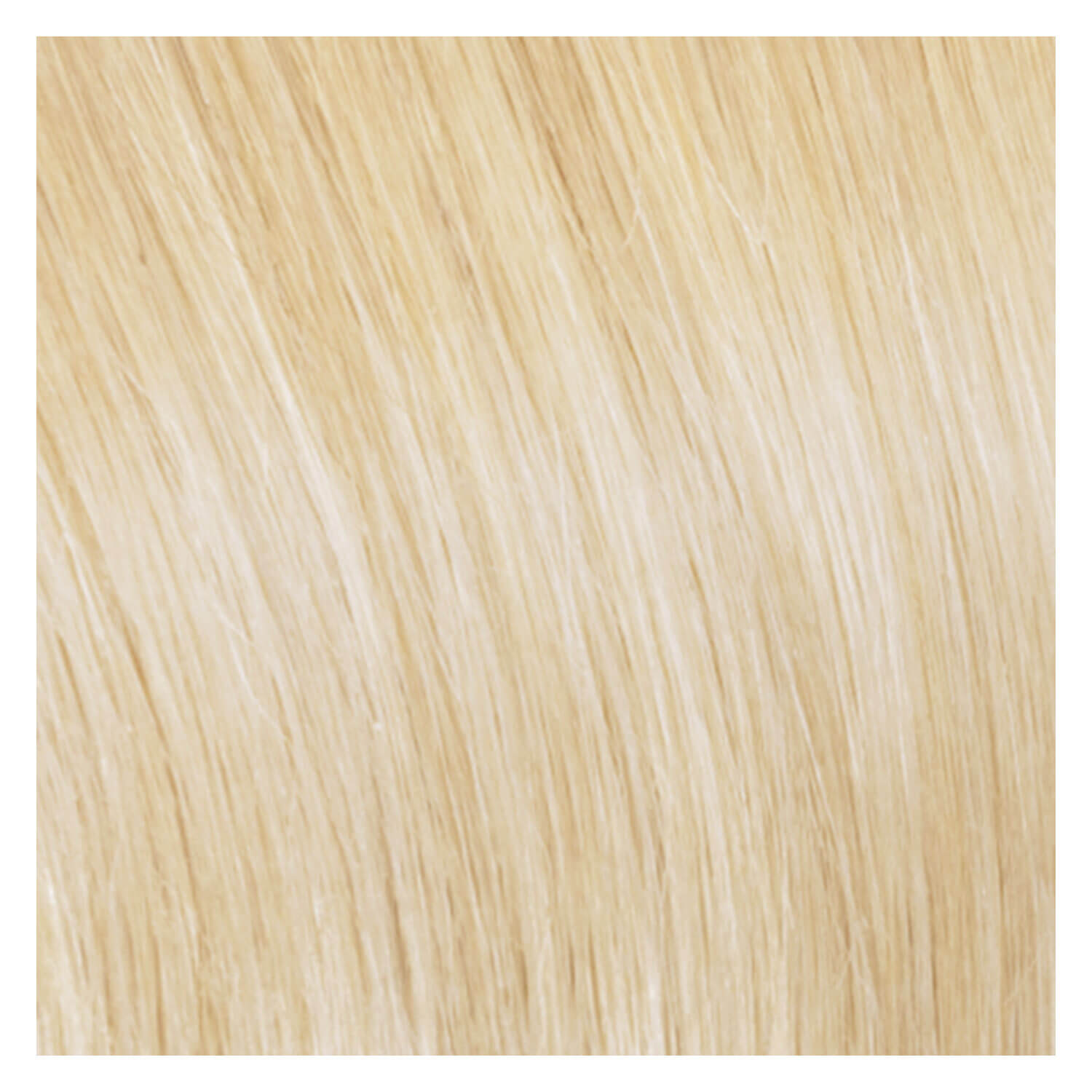 SHE Clip In-System Hair Extensions - 1001 Sehr helles Platinblond 50/55cm