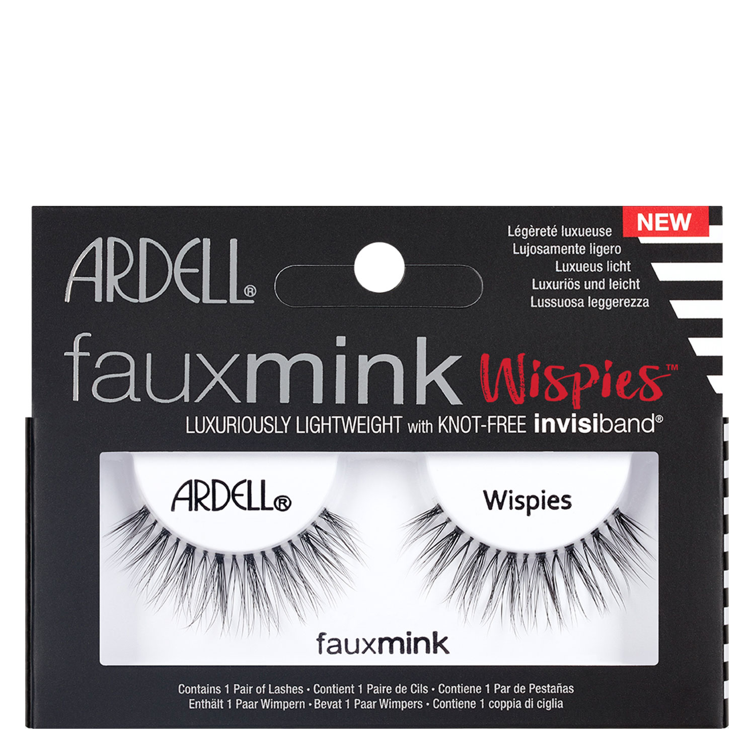 Ardell False Lashes - Faux Mink Wispies