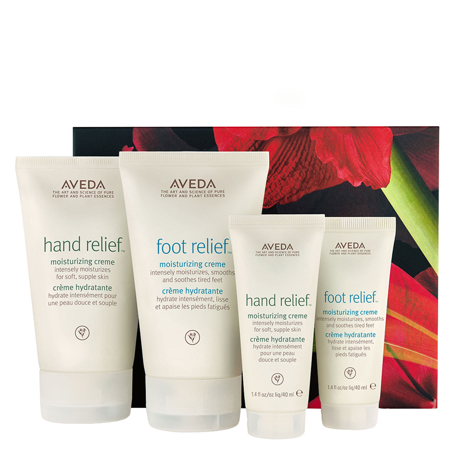 aveda specials - hand & foot relief home & travel hydration set