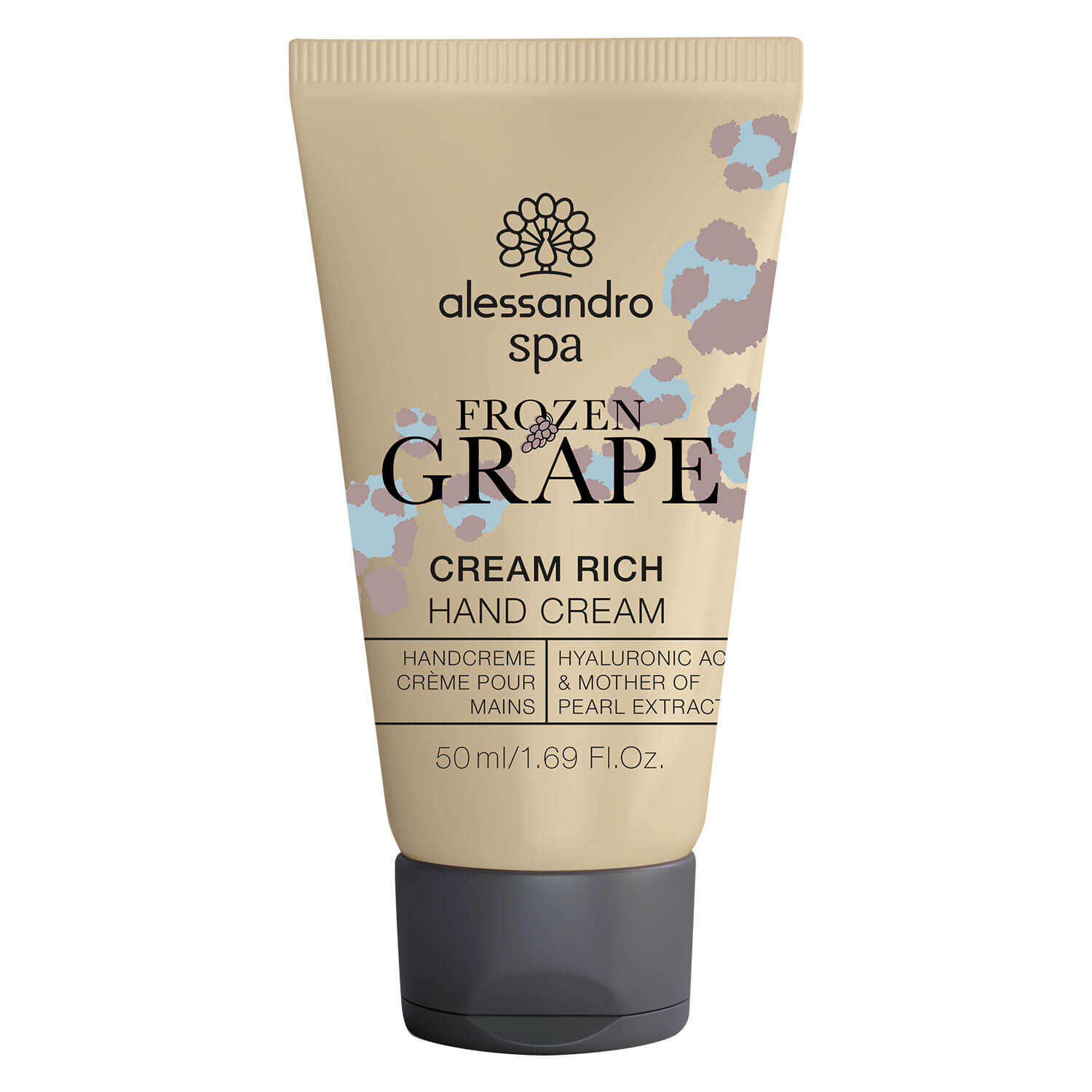 Alessandro Spa - Cream Rich Hand Cream Frozen Grape