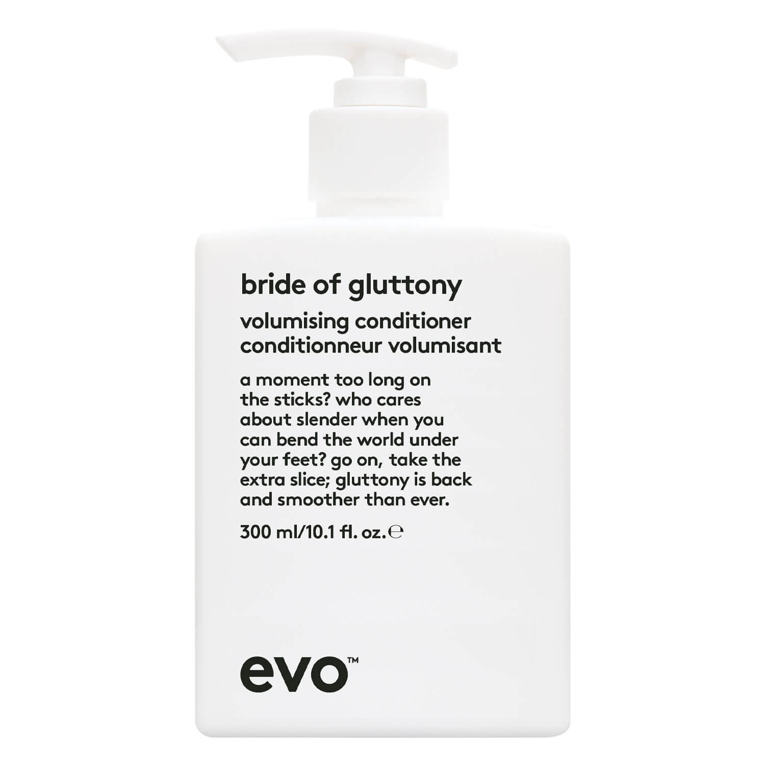 evo volume - bride of gluttony volume conditioner