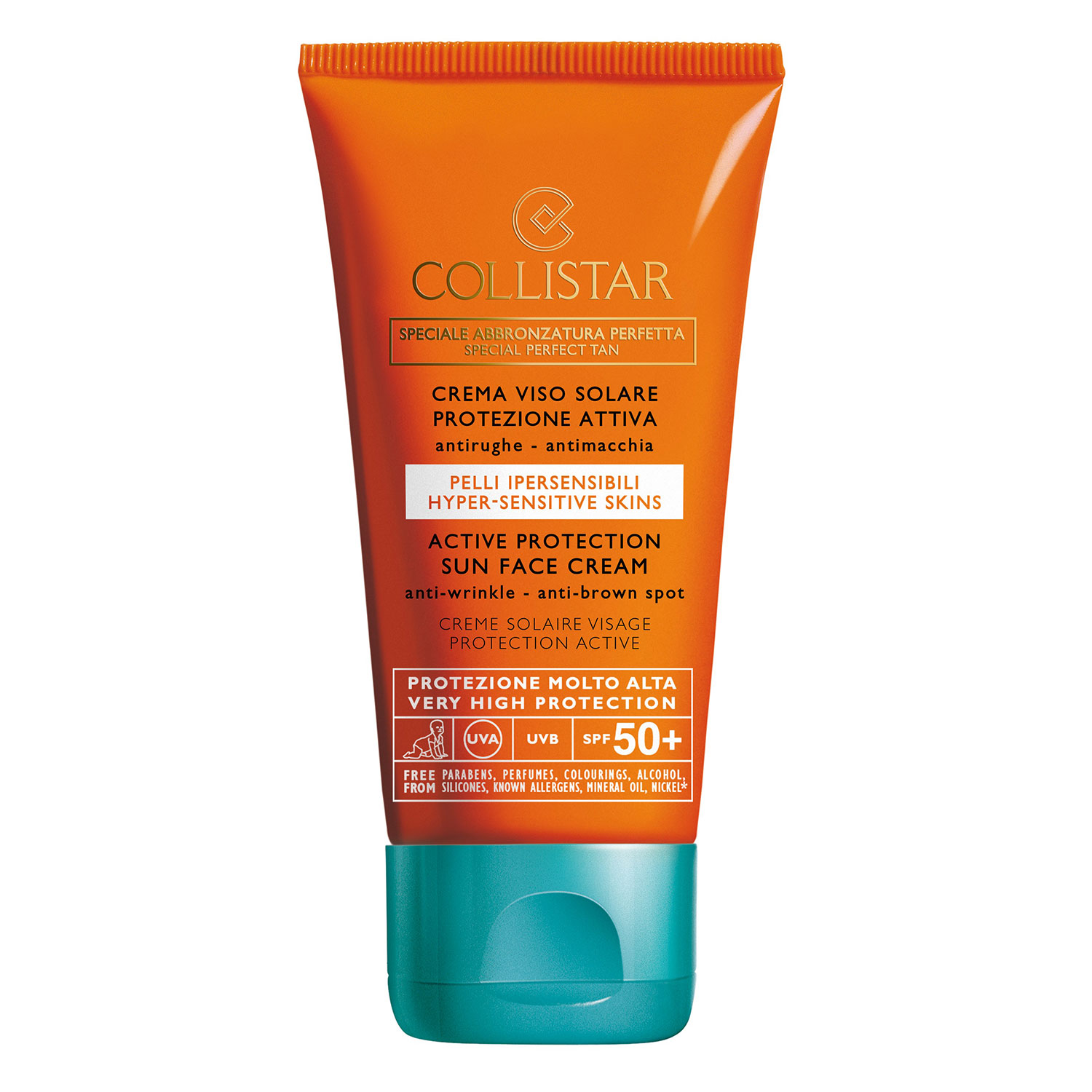 CS Sun - Active Protection Sun Face Cream Anti-Wrinkle SPF 50+