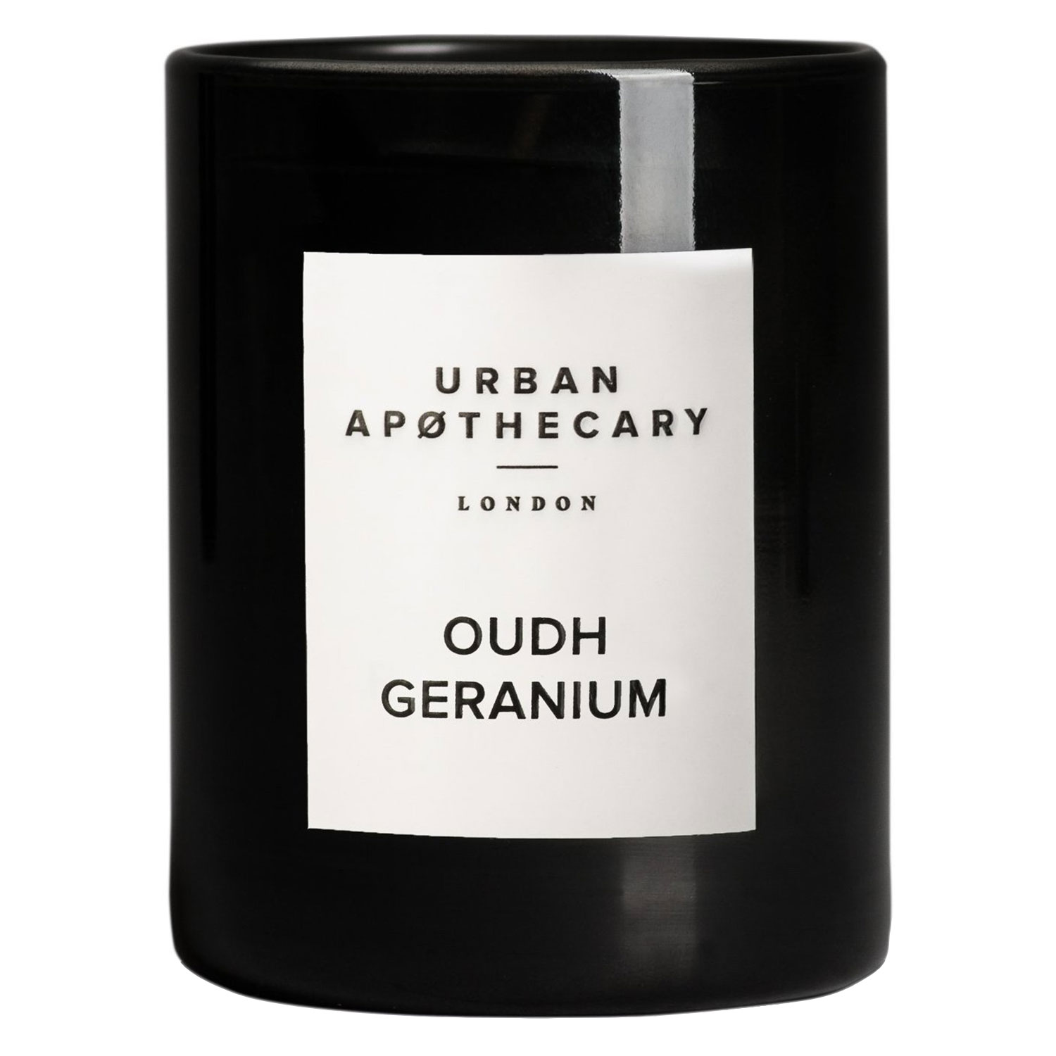 Urban Apothecary - Luxury Boxed Glass Candle Oudh Geranium