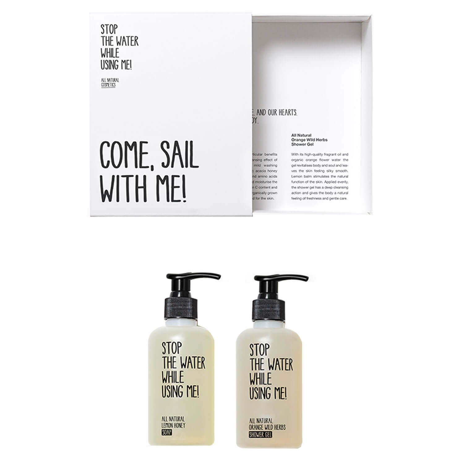 All Natural Body - Come, Sail With Me! Kit