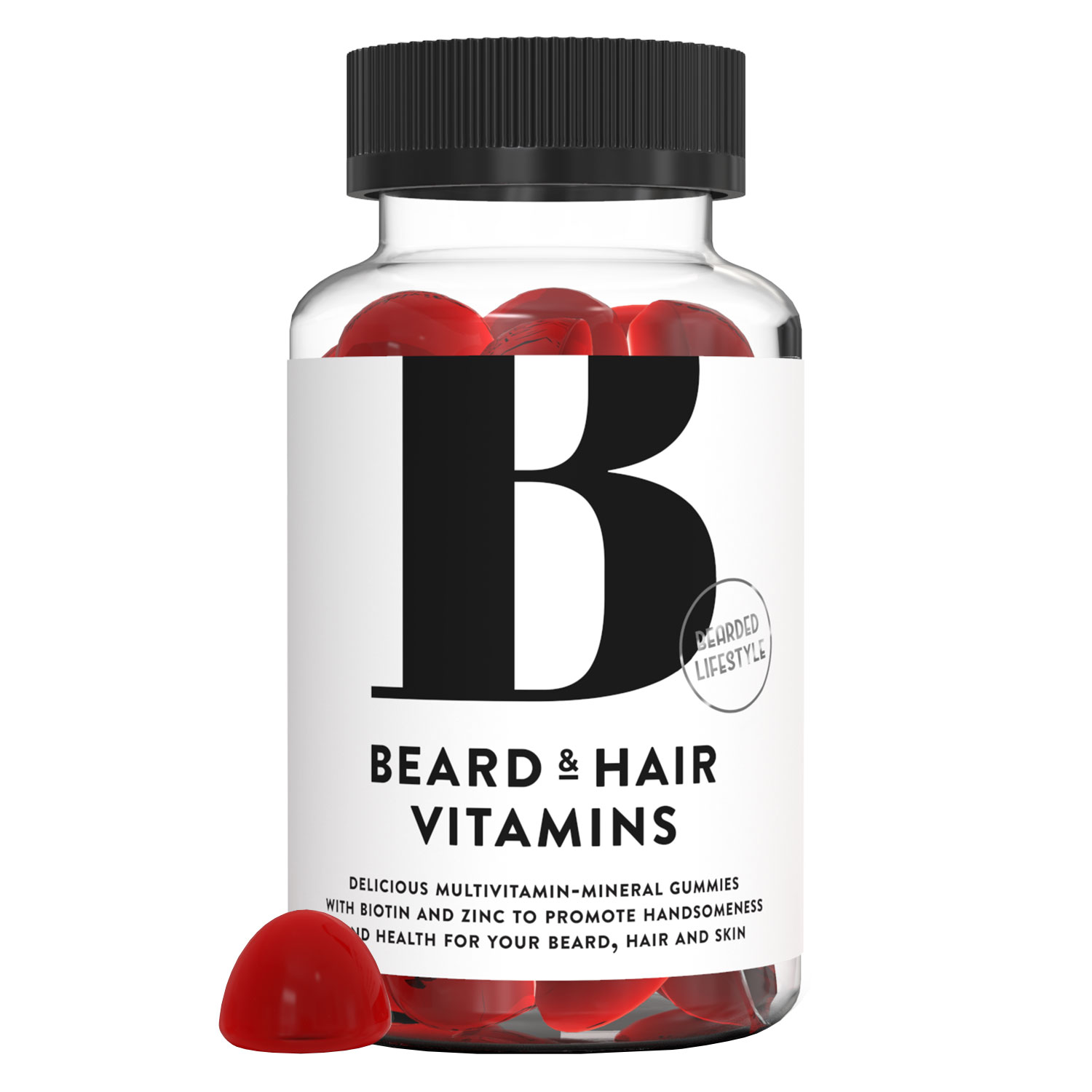 Bearded Lifestyle - Beard & Hair Vitamins Gummies