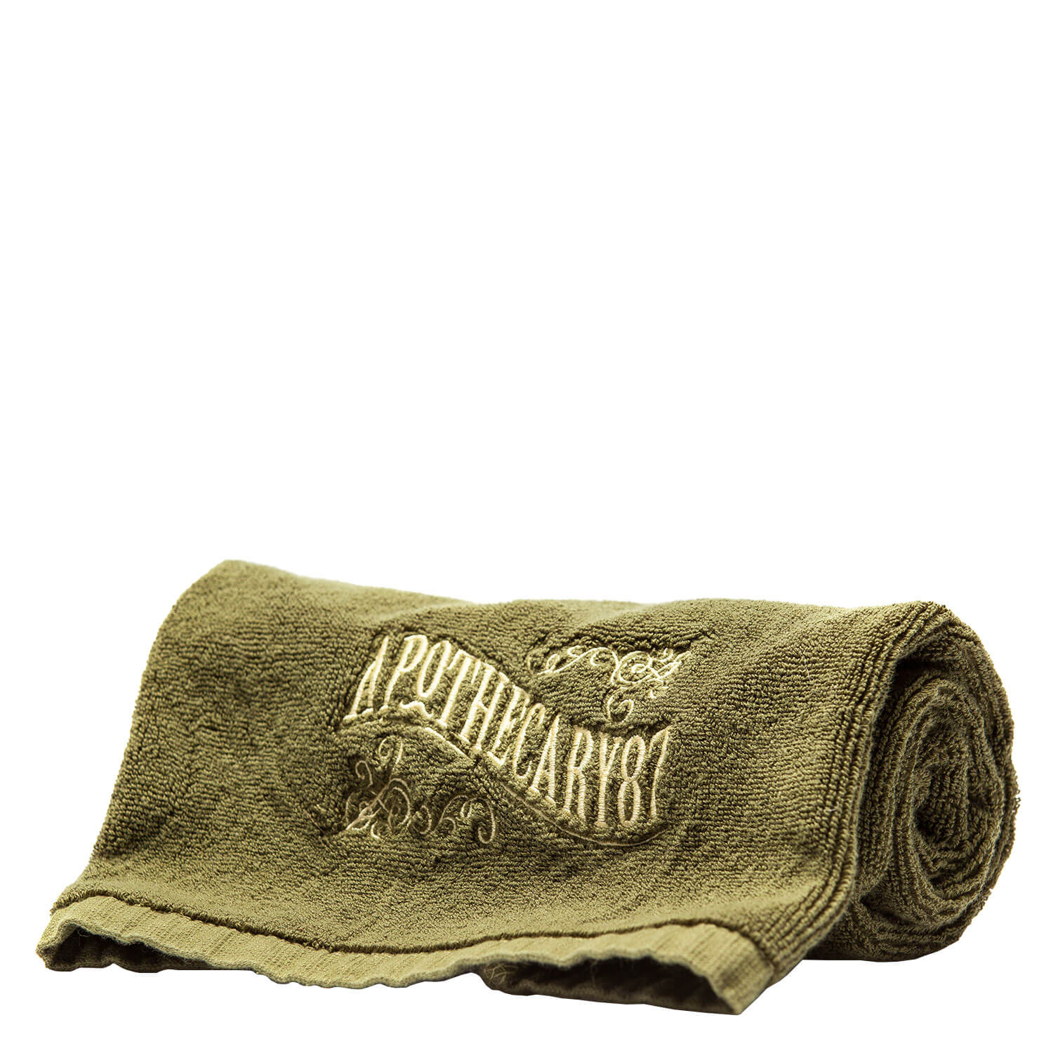 Apothecary87 Grooming - Shave Towel Green 100% Cotton