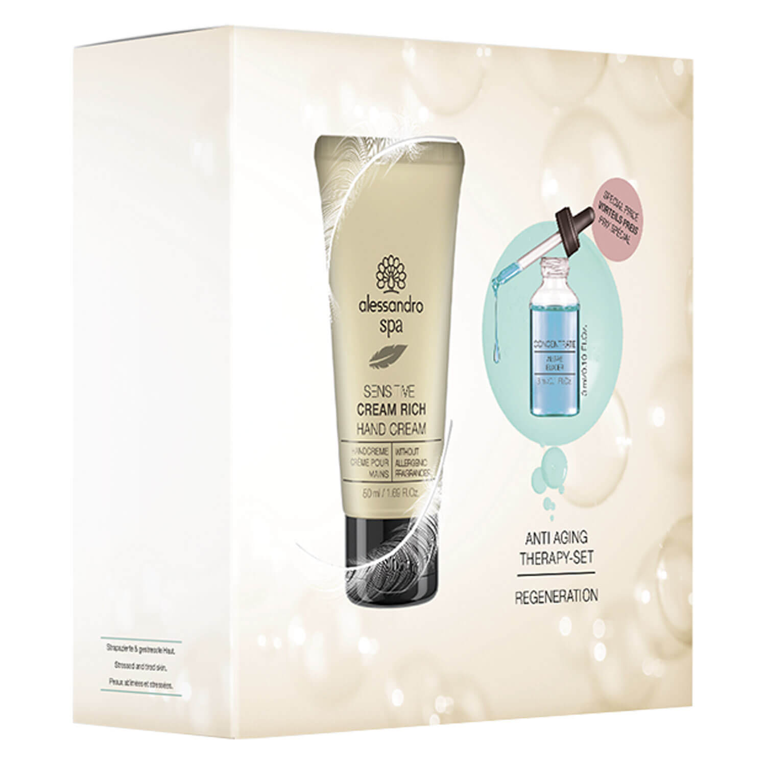 Alessandro Spa - Regeneration Concentrate & Cream Rich Set